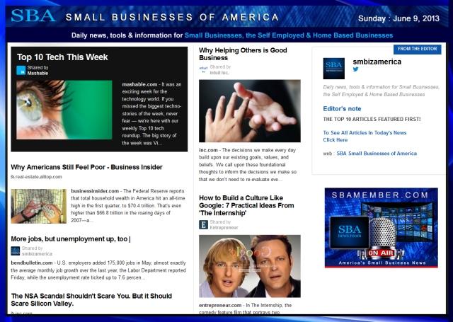 SBA Small Businesses of America 060913 smbiz-smallbiz-sba-smbizamerica