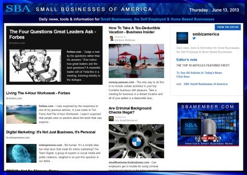 SBA Small Businesses of America 061313 smbiz-smallbiz-sba-smbizamerica-sba