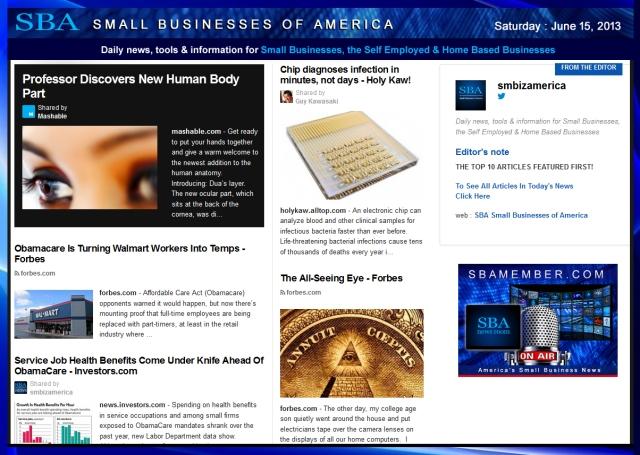 SBA Small Businesses of America 061513 smbiz-smallbiz-smbizamerica