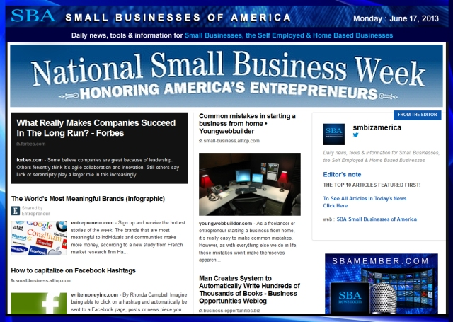SBA Small Businesses of America 061713 smbiz-smallbiz-smbizamerica-#nsbw2013