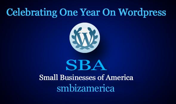 SBA Small Businesses of America smbizamerica First Year