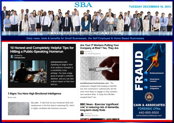 Small Business News 1210913 smb, smallbiz smbiz smbizamerica