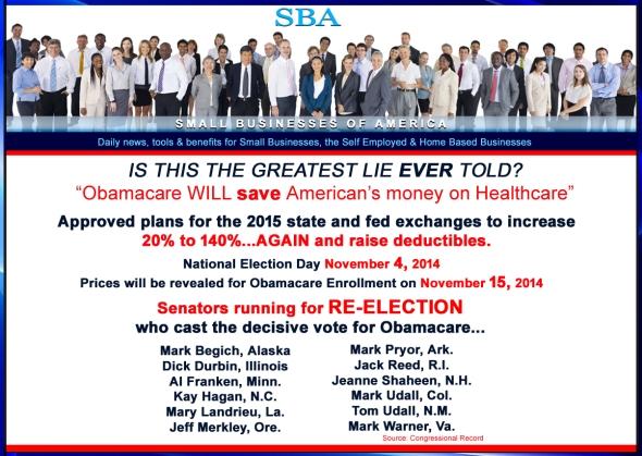 ObamaCare 2014 2015