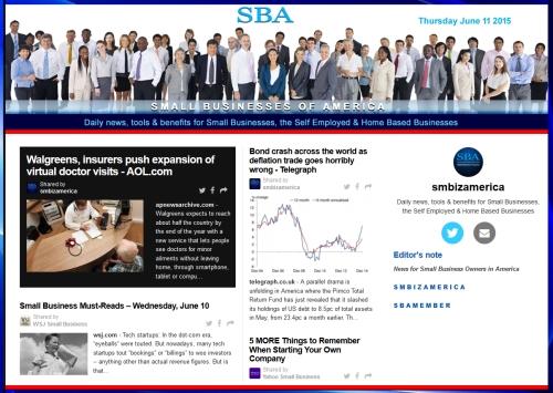 SBA Small Businesses of America News 06112015 smbiz, smbiznews, smbizamerica, News, smallbiz, SBA, Washington DC