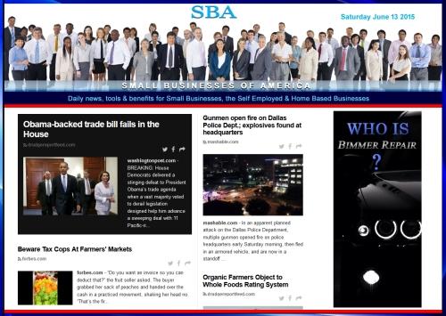 SBA Small Businesses of America News 06132015 smbiz, smbiznews, smbizamerica, News, smallbiz, SBA, Washington DC