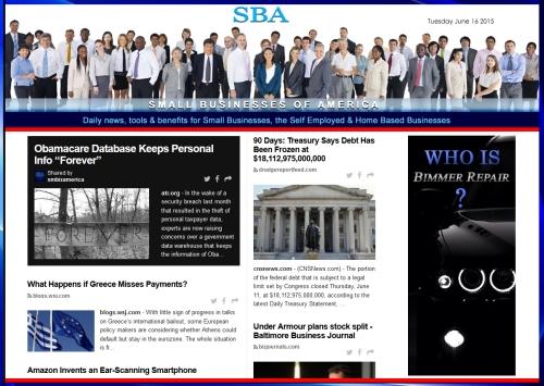SBA Small Businesses of America News 06162015 SMBIZ SMBIZNEWS SMBIZAMERICA SMB Bimmer Repair Ad