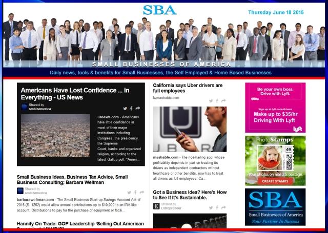 Small Business News 061815 #smbiz #smbizamerica #smbiznews #news #america #smallbusiness