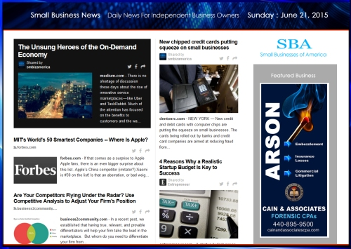 Small Business News 062115 SMBIZ