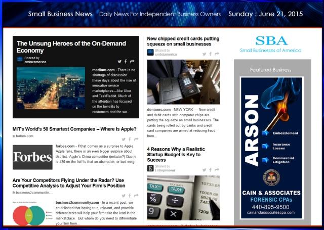 Small Business News 062115 SMBIZ