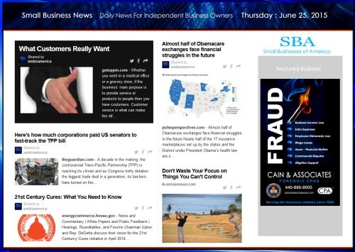 Small Business News 062515 SMBIZ