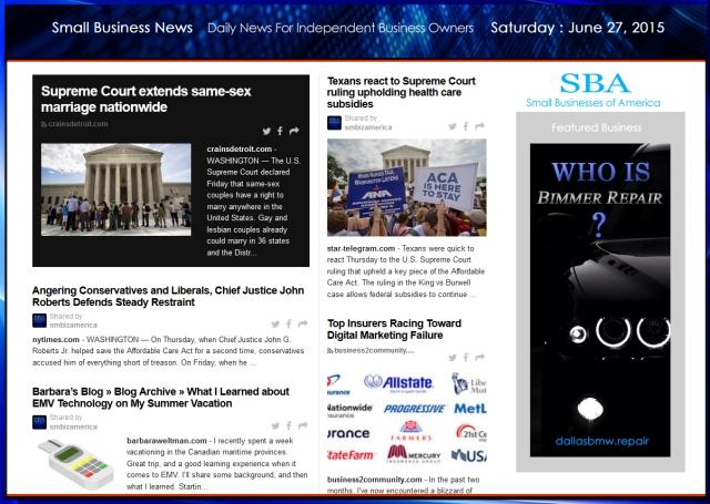 Small Business News 062715 SMBIZ