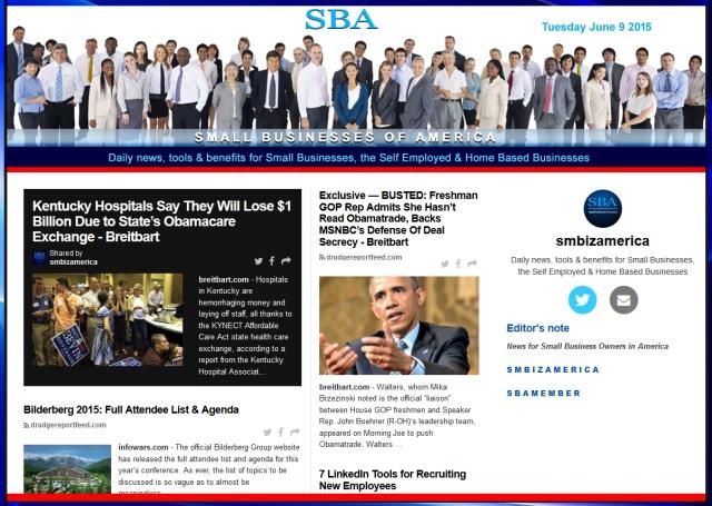 Small Businesses of America News 06092015 smbiz, smbiznews, smbizamerica