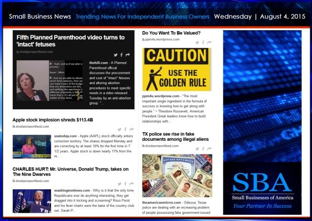 Small Business News 08052015 #smallbusiness #smbiz
