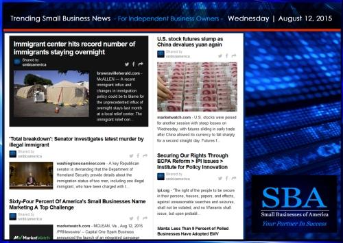 Trending Small Business News 08122015