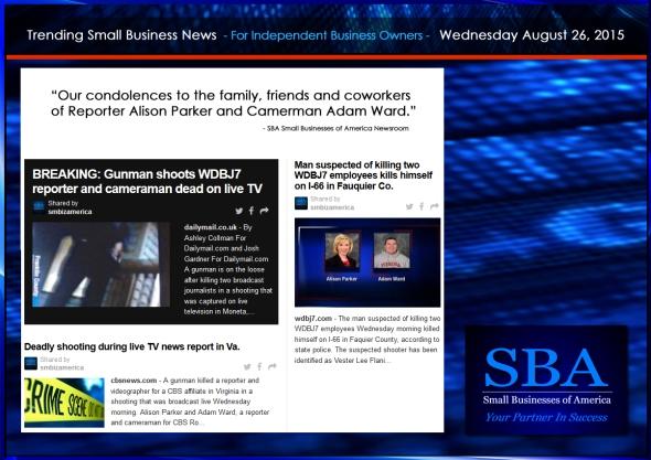 Trending Small Business News 08262015