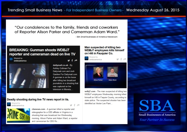Trending Small Business News 08262015