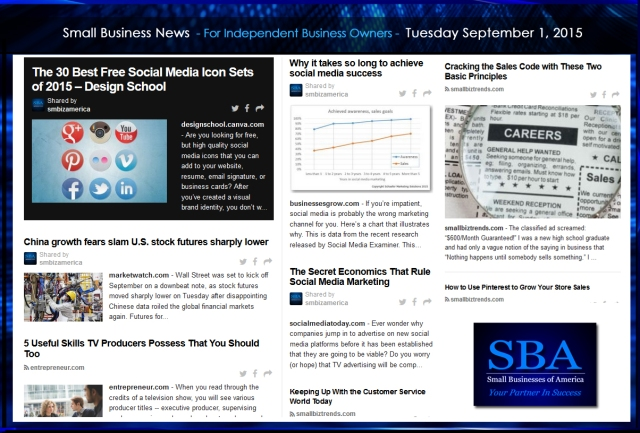 Small Business News 09012015