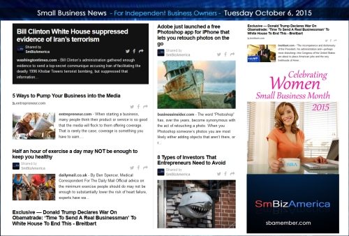 Small Business News 10062015