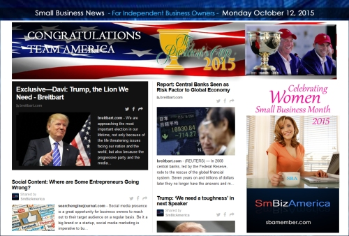 Small Business News 10122015
