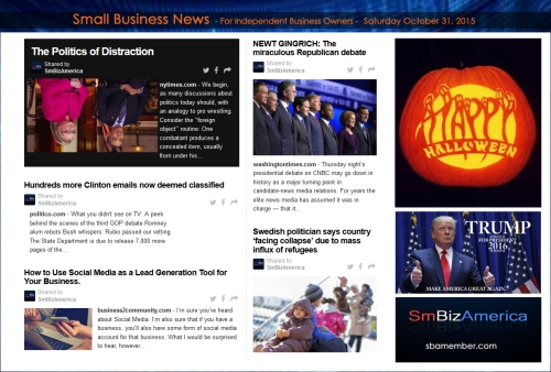 Small Business News 103115