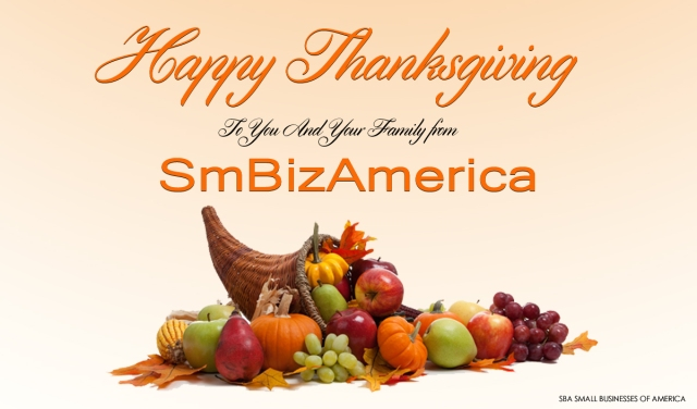 Happy Thanksgiving From SmBizAmerica
