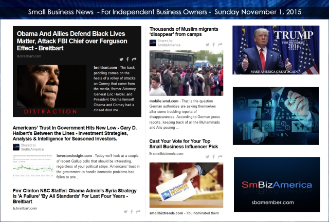 Small Business News 110115