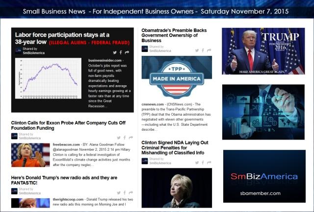 Small Business News 11072015