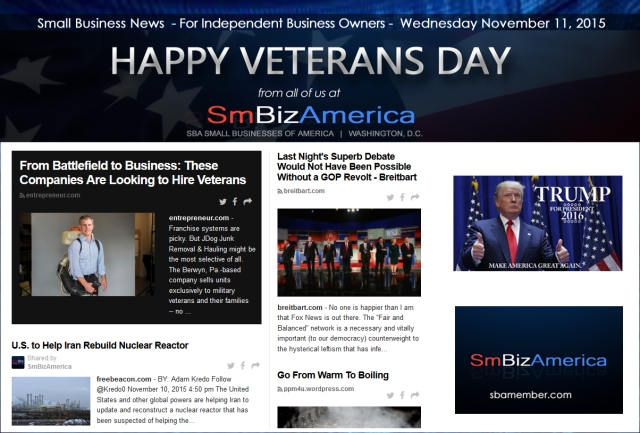 Small Business News 111115
