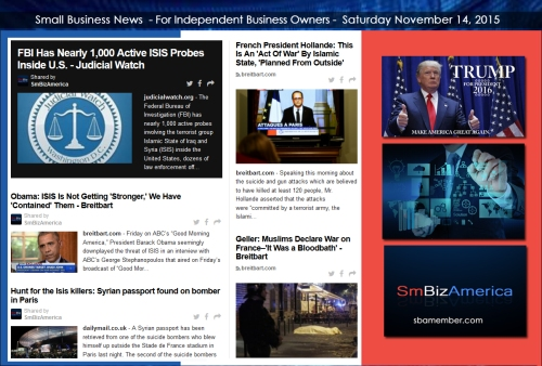 Small Business News 11142015