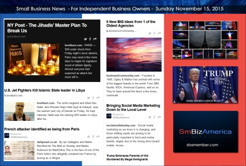 Small Business News 11152015
