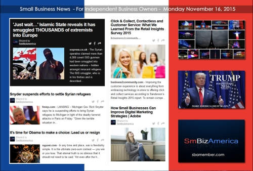 Small Business News 11162015