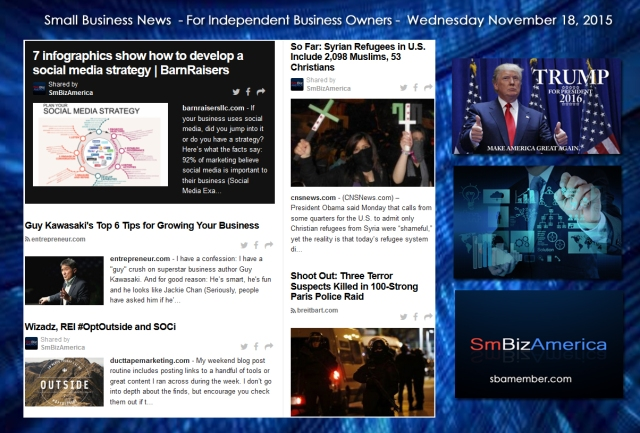 Small Business News 11182015