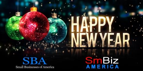 HAPPY NEW YEAR 2016 SBA SMALL BUSINESSES OF AMERICA SMBIZAMERICA SMBIZ