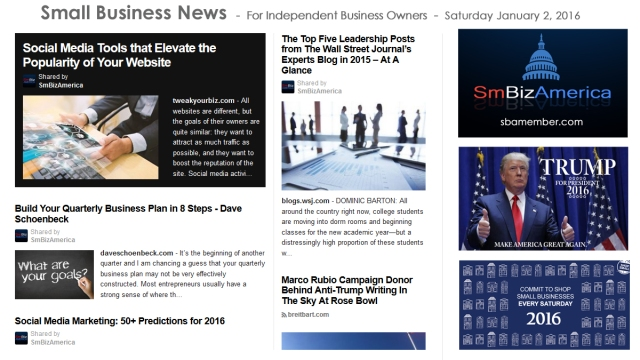 Small Business News 010216