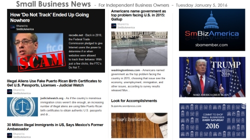 Small Business News 010516