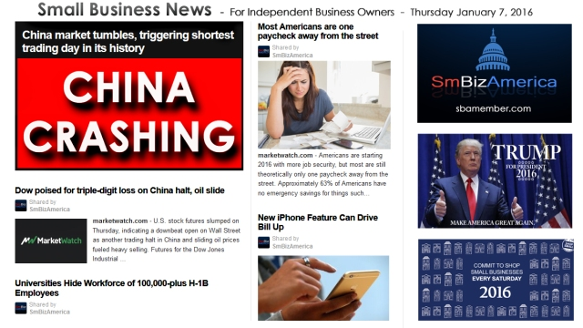 Small Business News 010716