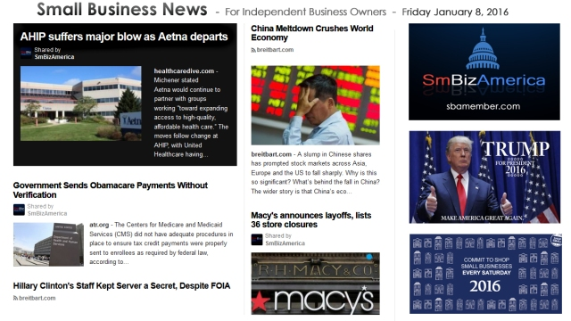 Small Business News 010816