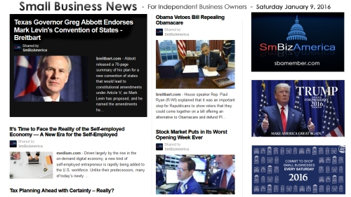 Small Business News 010916