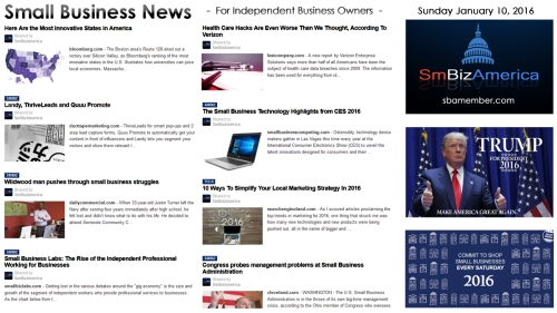 Small Business News 011016