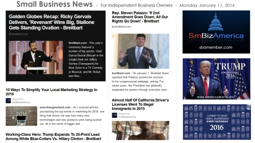 Small Business News 011116