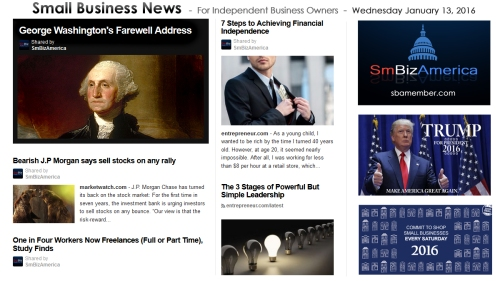 Small Business News 011316