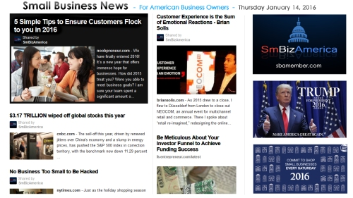 Small Business News 011416