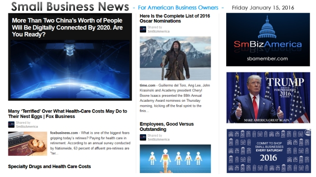 Small Business News 011516