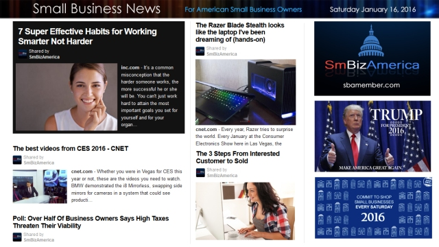 Small Business News 011616