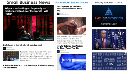 Small Business News 011716