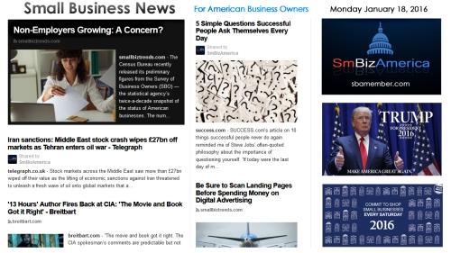 Small Business News 011816