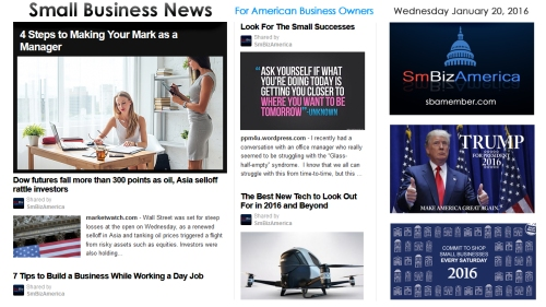 Small Business News 012016