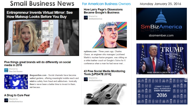 Small Business News 012516