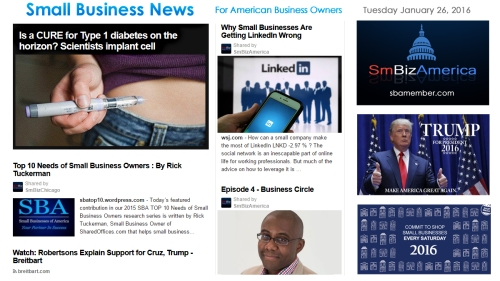 Small Business News 012616