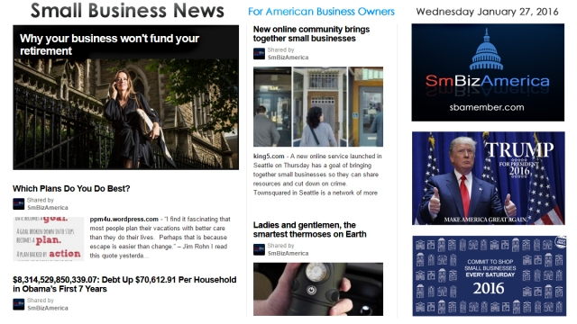 Small Business News 012716